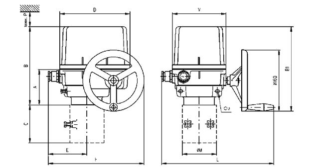 Электропривод SP1 281.0-03BAX/BS